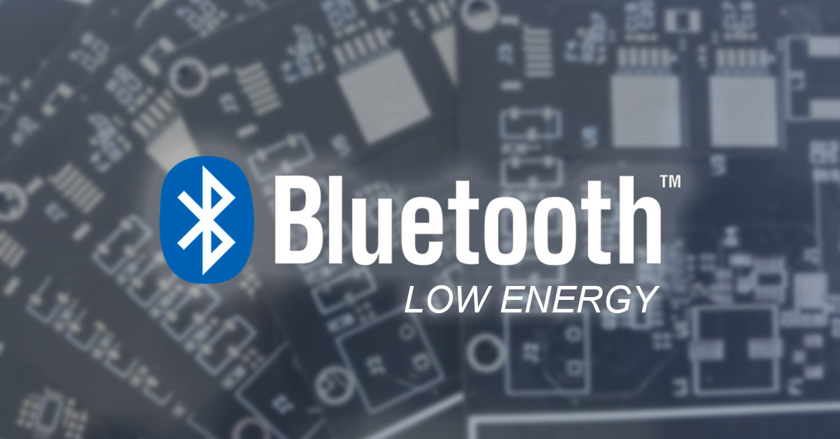 Bluetooth Low Energy (5.0) dans le cadre d'applications IoT