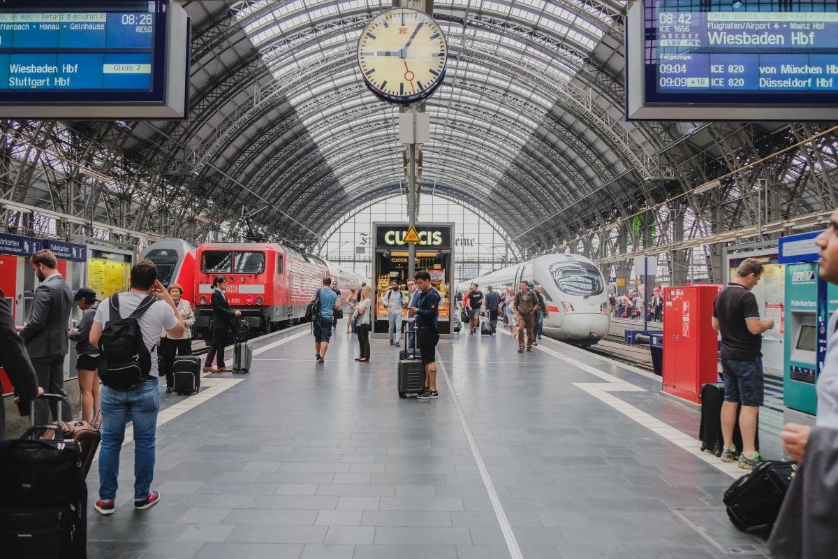 Infodivertissement pour trains