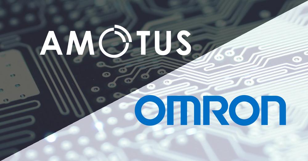 Amotus et Omron sont heureux d'annoncer une collaboration pour les Amériques